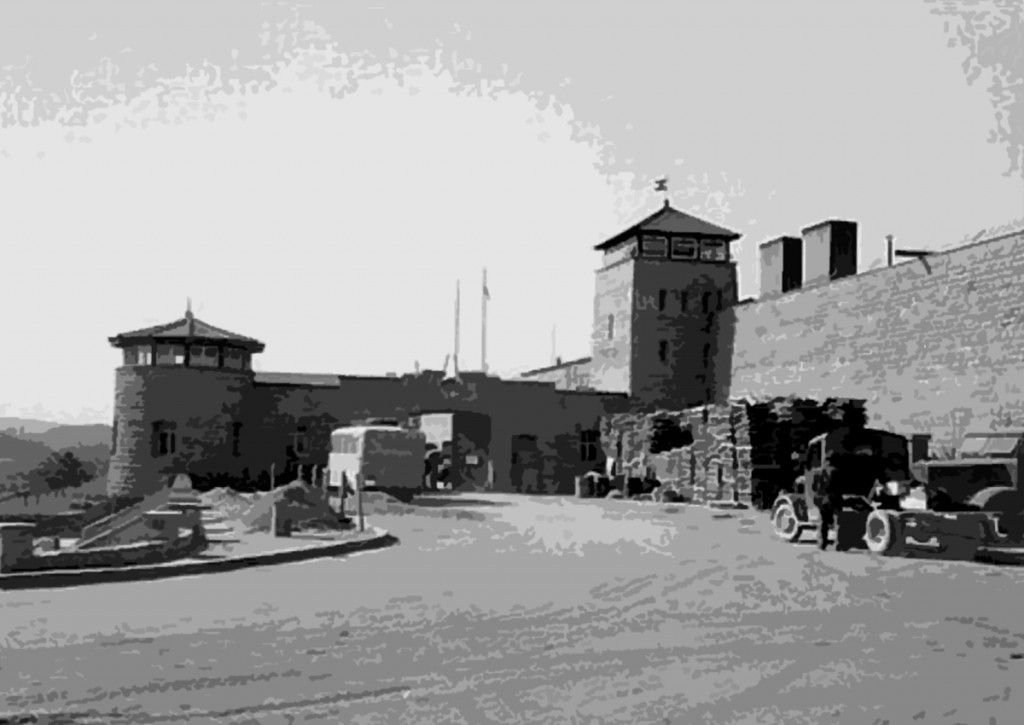 The gate at Mauthausen