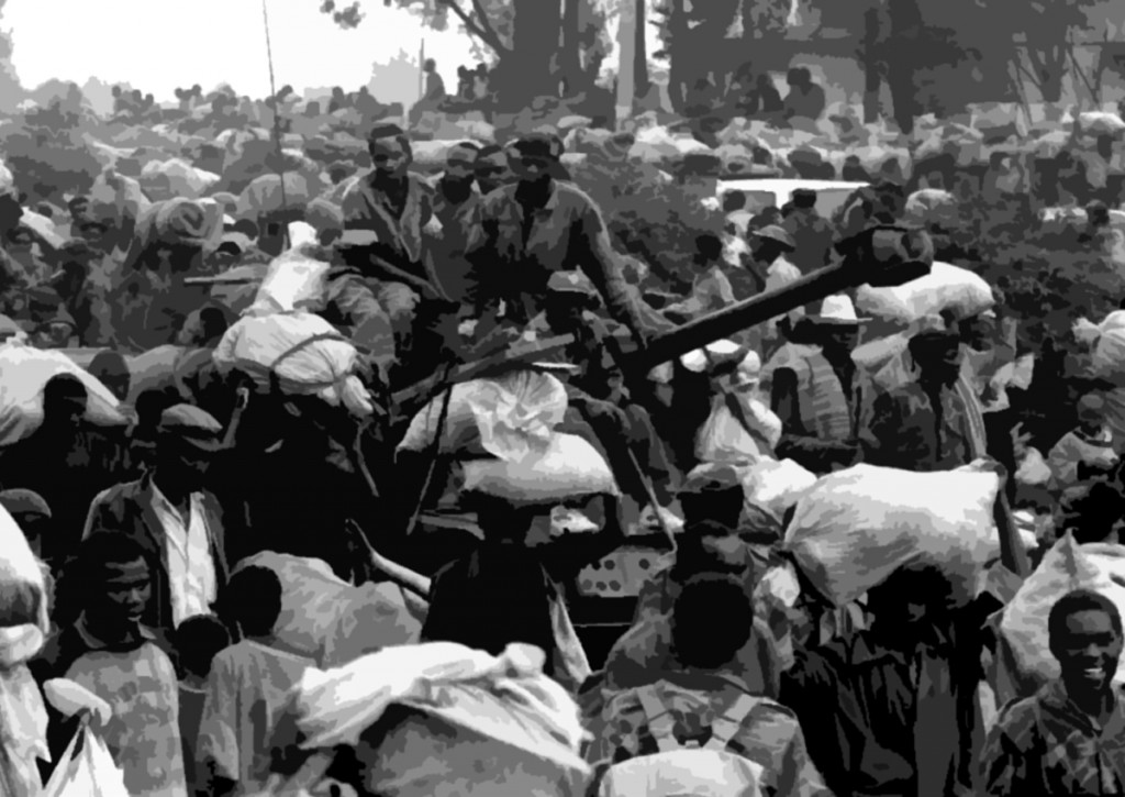 The Rwandan genocide began on April 7, 1994. In the 100 days before its end, nearly 800,000 people were murdered, including 300,000 children