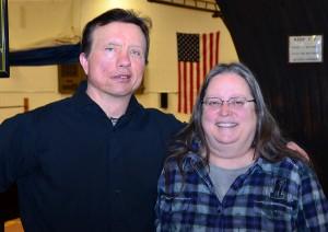 Tom Reis and Cheryl Redinger