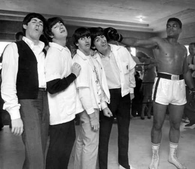 Ali KOs The Beatles, 1964