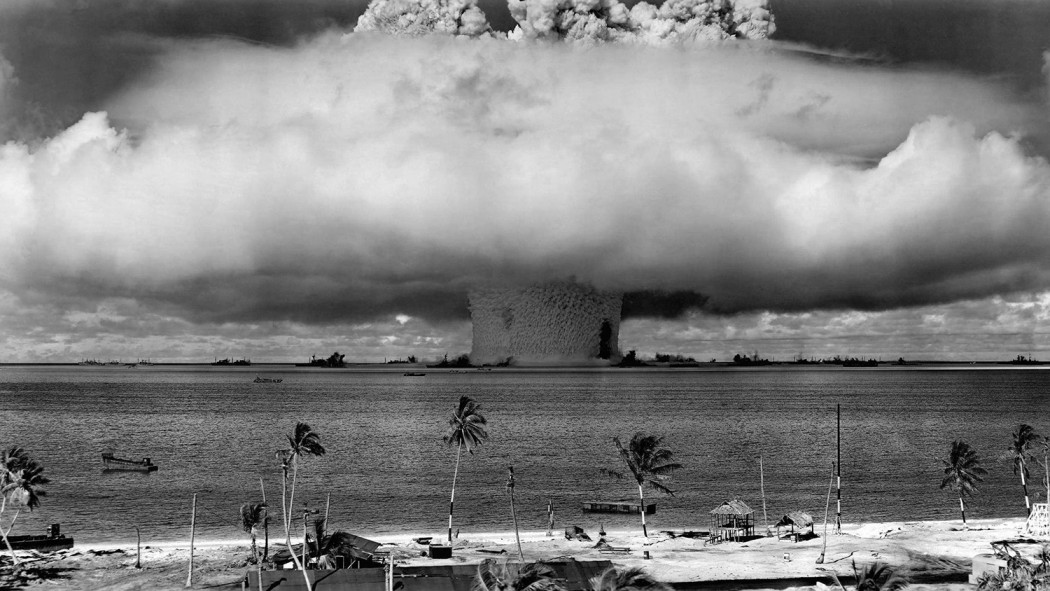 Bikini Atoll A-bomb, 1946