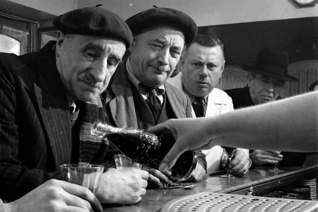 First Coke hits France, 1950