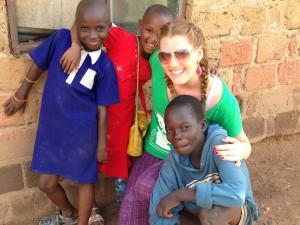 Katie in Uganda