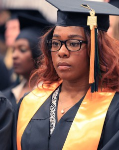 Levi at May 2015 commencement