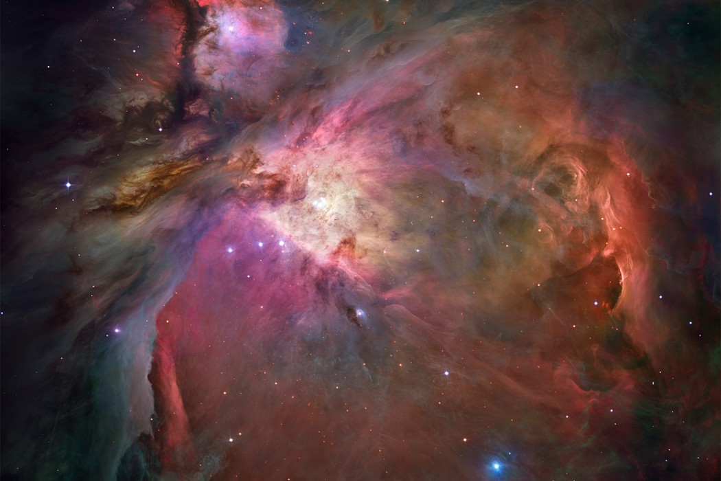Orion Nebula, Hubble Telescope