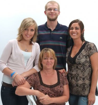 Molly, Zack, Cheryl and Amanda