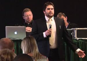 Oscar speaking at MSCSA Spring General Assembly 2015