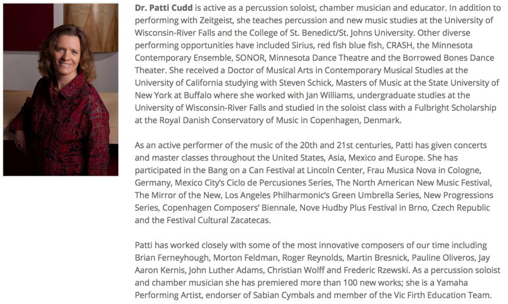 Dr. Patti Cudd