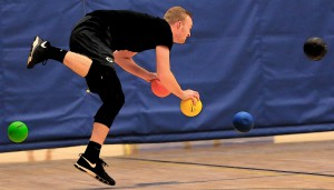 Stop playing dodgeball with your health; take the Fitness Challenge!