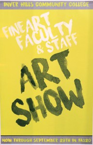 Fine Art Faculty & Staff Art Show