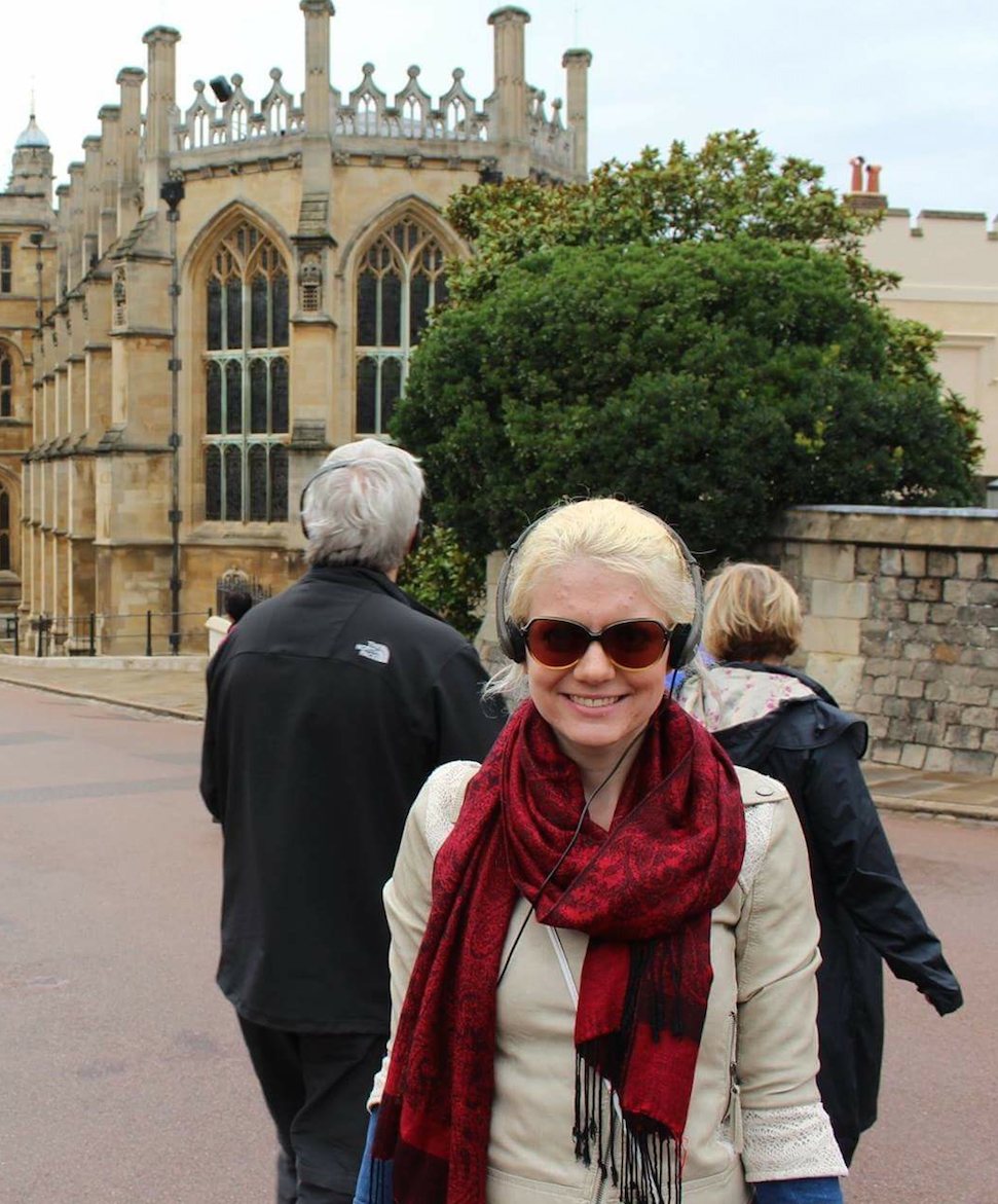 Berit at Windsor Castle