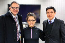 Gerardo Guerrero, Yesenia Arevalo, Oswaldo Cabrera