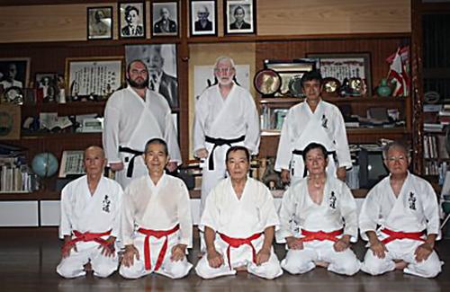 Maeshiro Morinobu's dojo