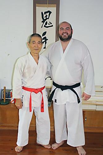 Jade with Maeshiro Morinobu