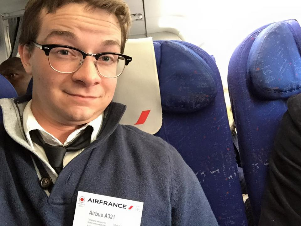 Flying Air France
