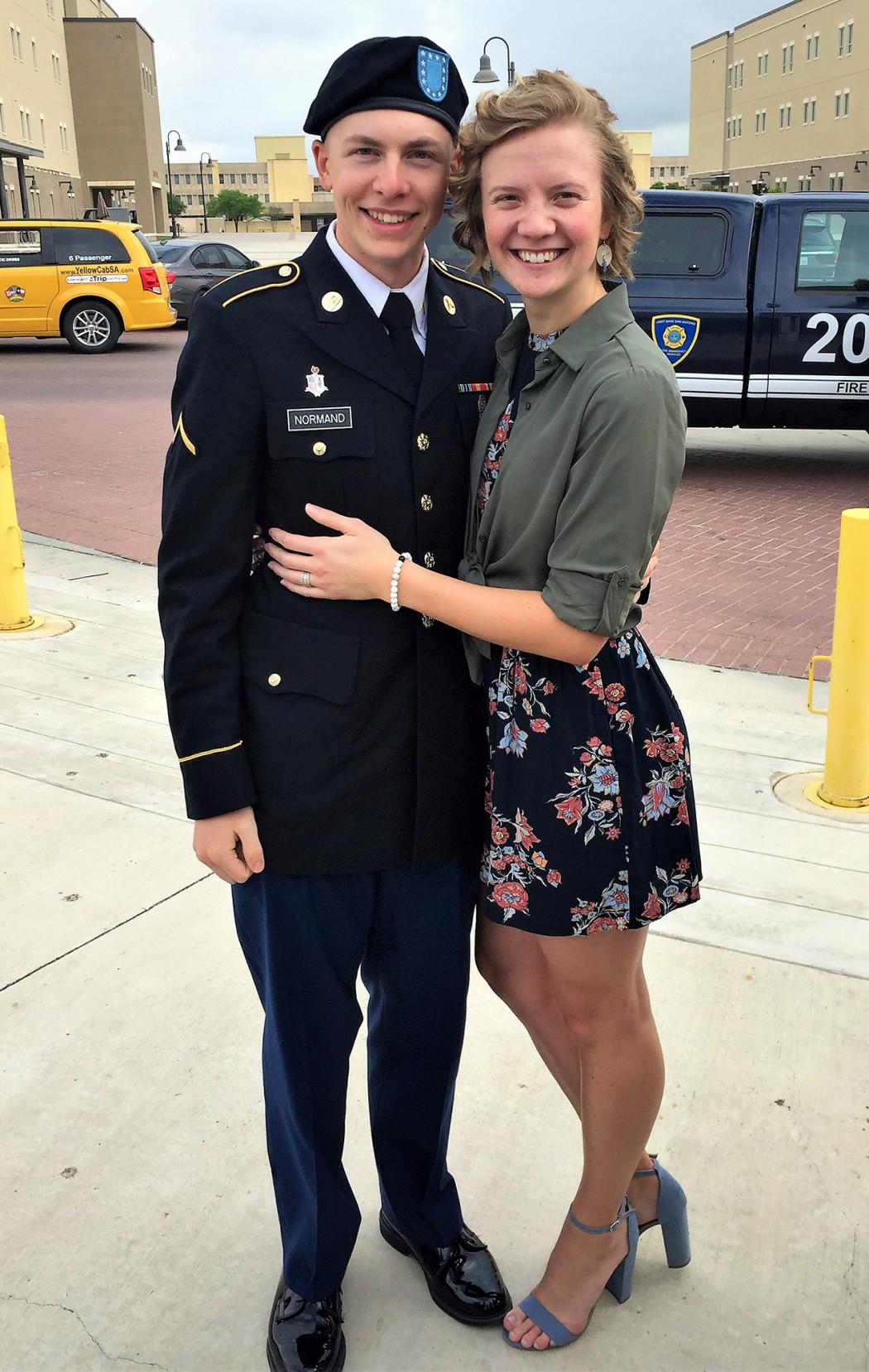 Kayla and boyfriend, Matthew