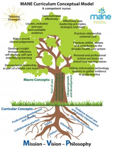 MANE Curriculum Conceptual Model