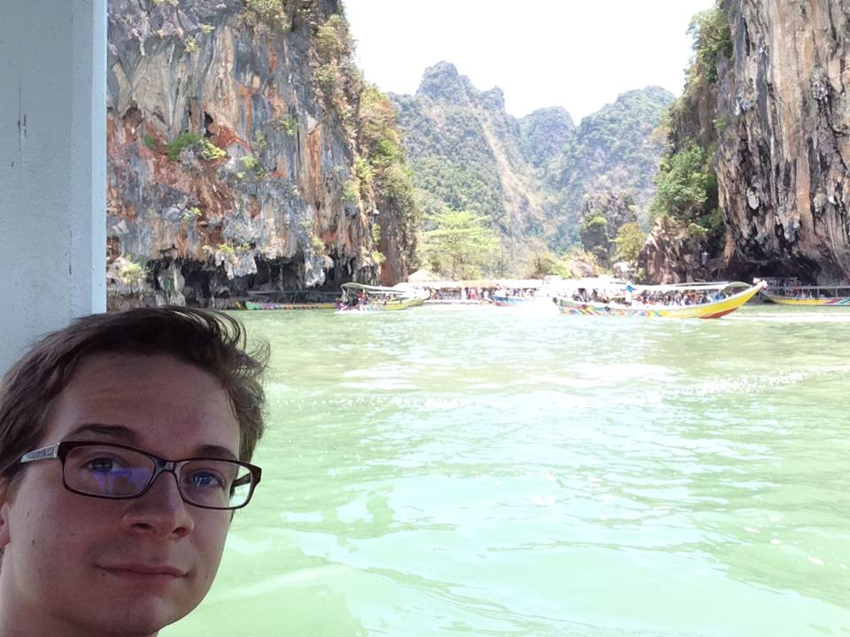 River boating in Thailand