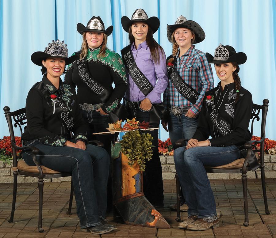 Western Saddle Clubs Association (WSCA) royalty