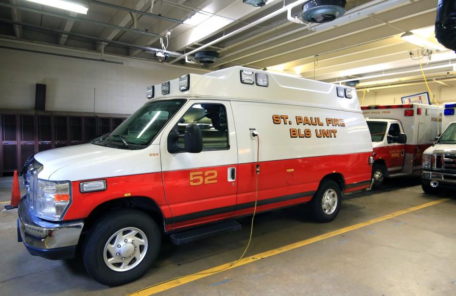 Basic Life Support (BLS) ambulance