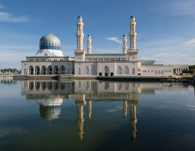 City mosque in Kota Kinabalu