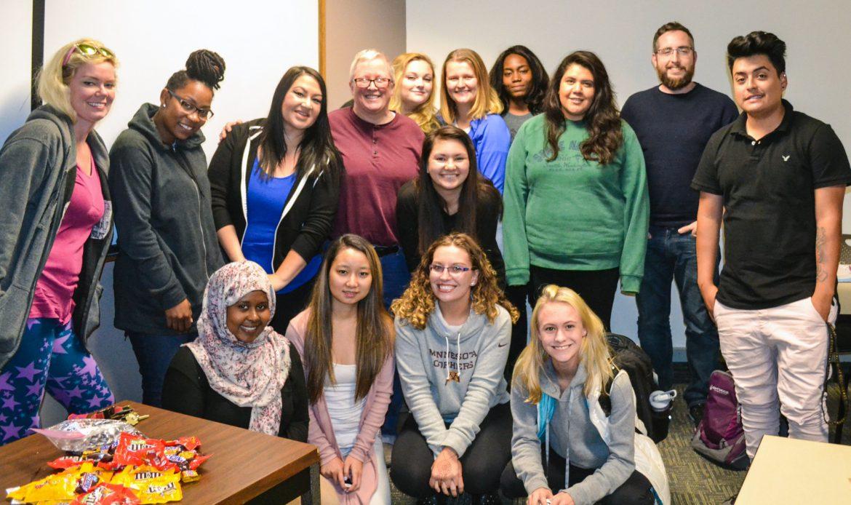 Metro State students_Kathryn Ganfield/The Metropolitan