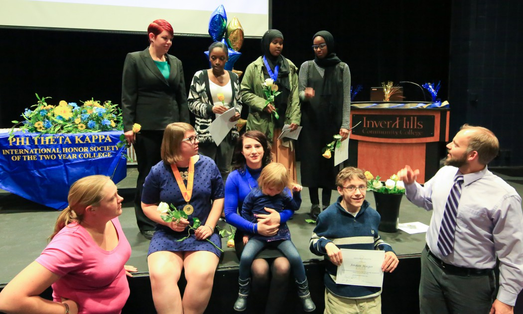 PTK Induction Ceremony Fall 2017