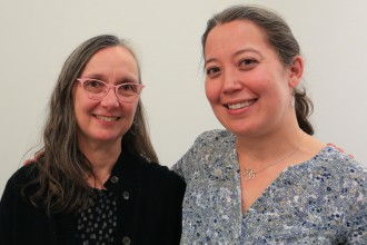 Monica Rudquist and Juliane Shibata