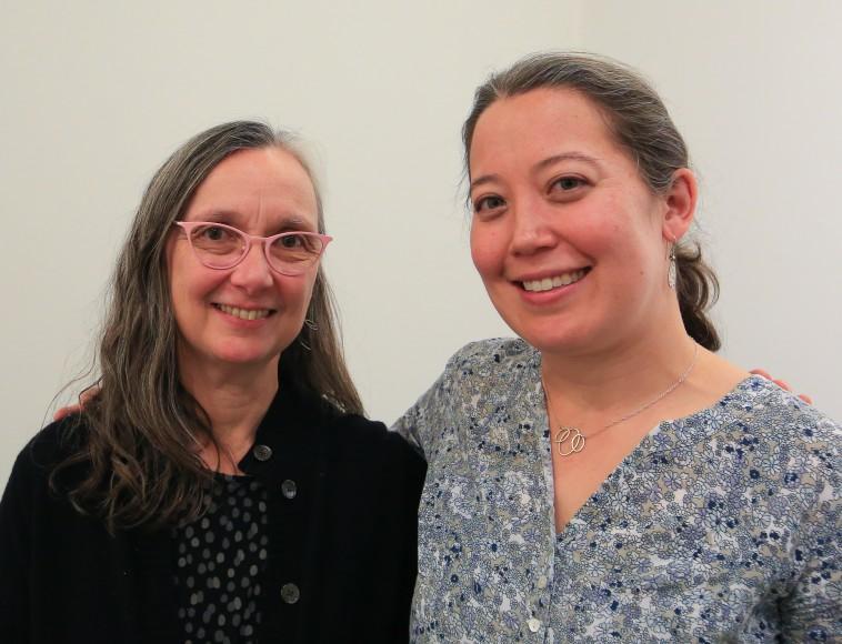 Monica Rudquist and Juliane Shibata