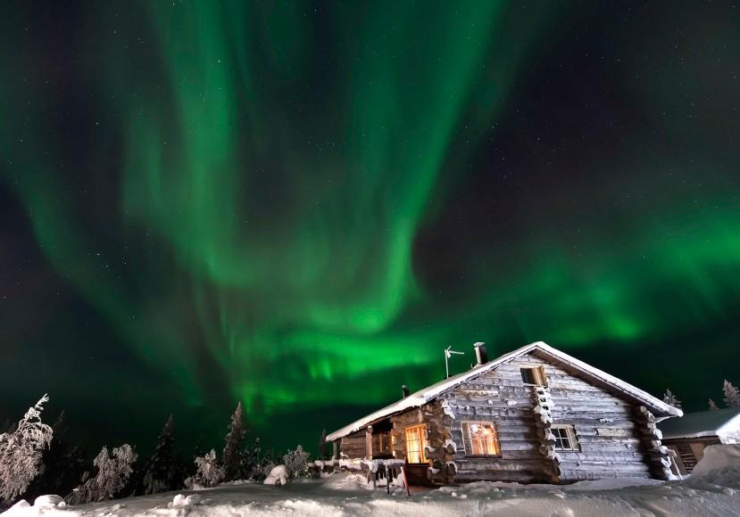 North Shore northern lights