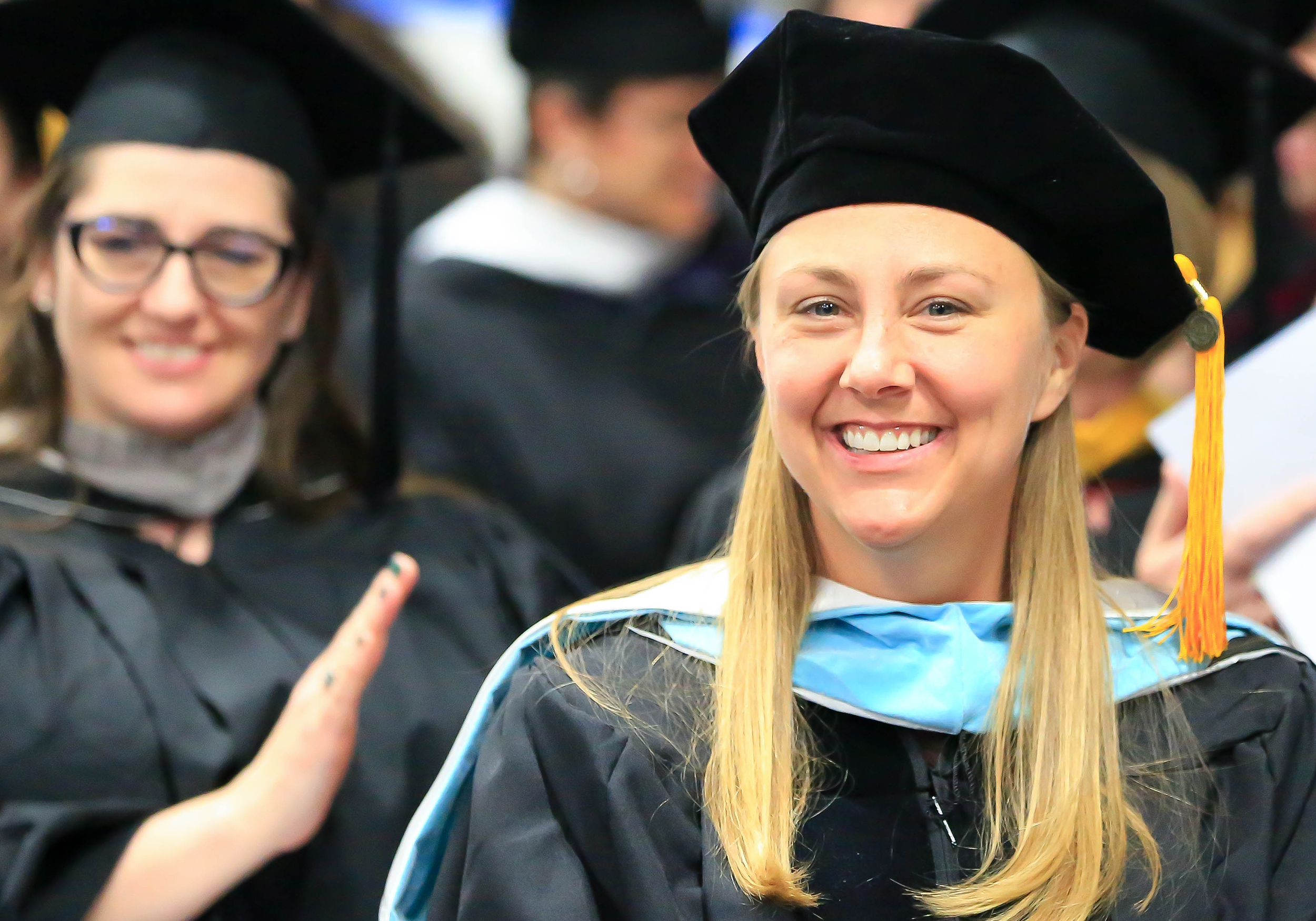 Julie Luker at 2018 Inver Commencement