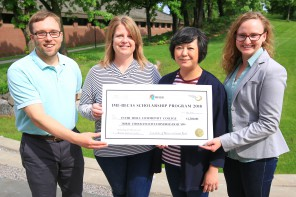 Inver Hills Receives $3,500 IME-Becas Grant