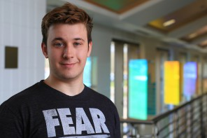 New Student Spotlight: Benjamin Armstrong