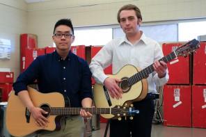 Musicians: Yeng Yang and Taylor Stotesbery