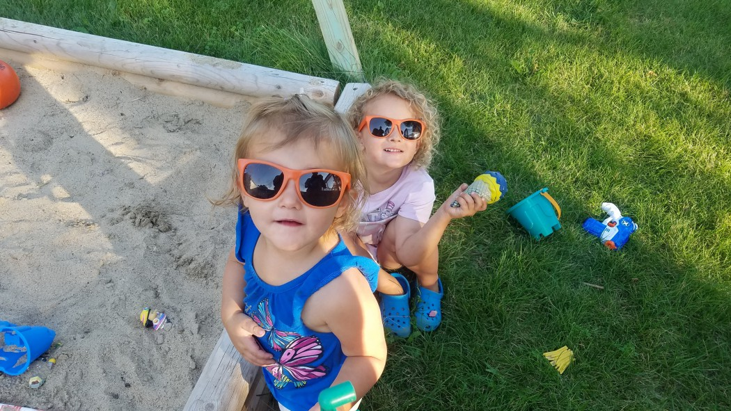 Daughters rocking Golden Harvest sunglasses
