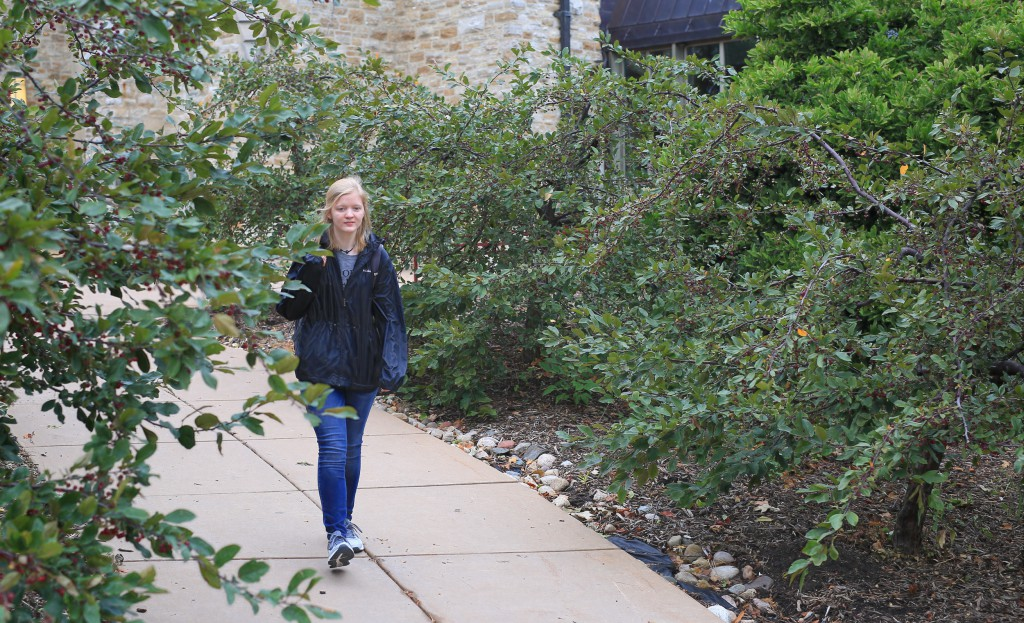 Jessica at St. Olaf