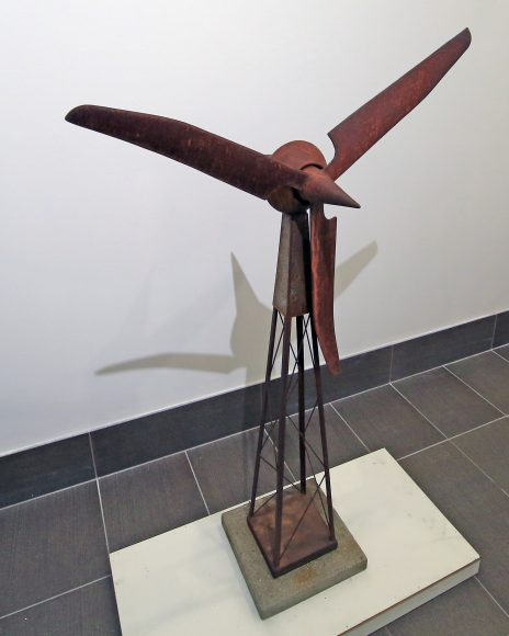 Turbine #2, Cast Iron, Steel and Concrete, $1,200