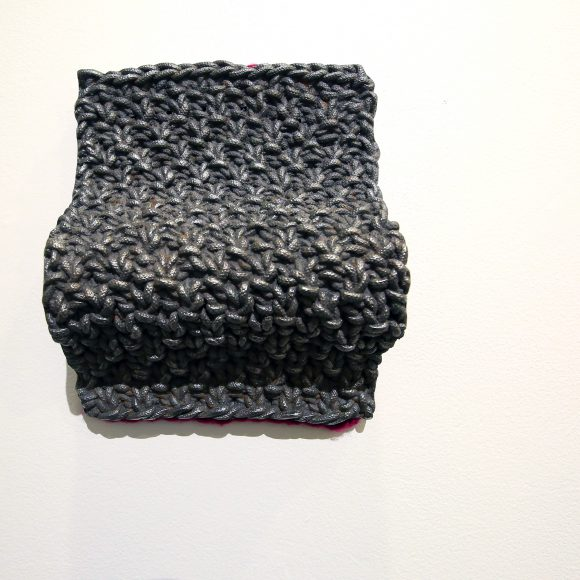 Space, Cast Iron and Knit Wool, $750