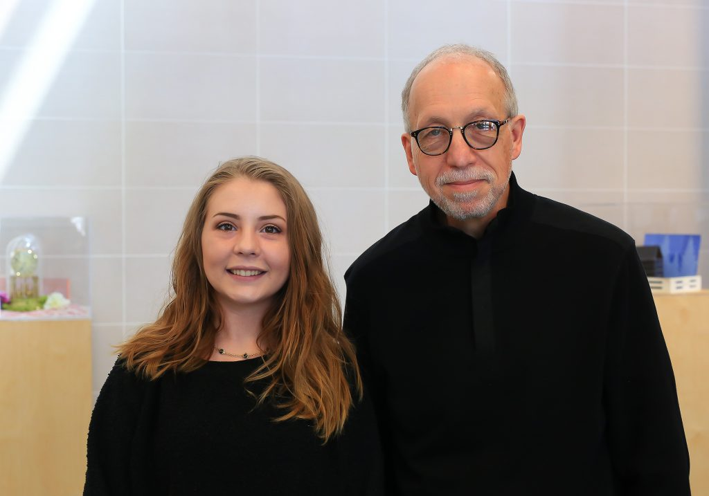 Chelsey Siebenaler and George Roesler