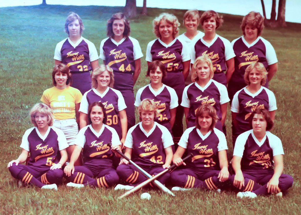 Inver Hills Giants Fastpitch Softball 1977 MCC Women's Softball Champion