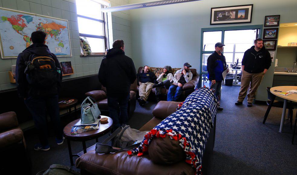 Veterans Lounge in Heritage Hall