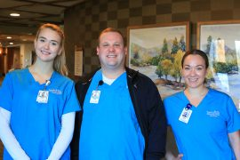 Inver Hills Nursing Students: Hannah Mesmer, Nick Welisevich, Erica Rgnonti