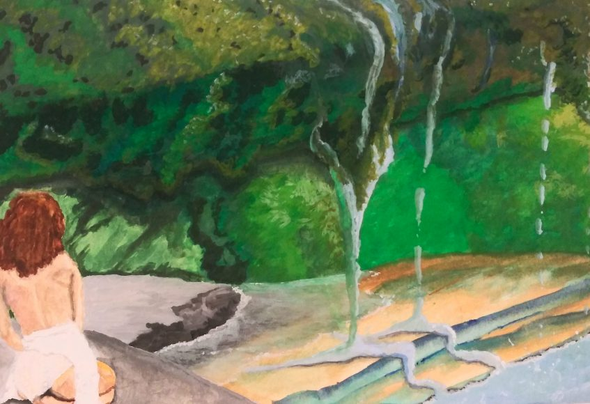 Painting by Randy Howlett, Inver Hills art student | Art in Crisis Collection