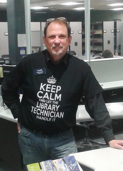 David Colwell, Inver Hills Library Technician