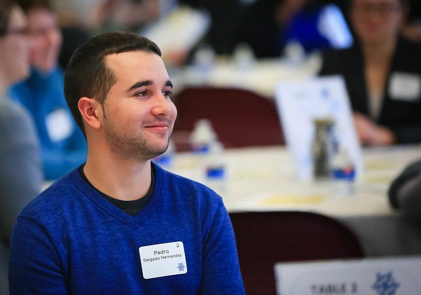 Pedro Delgado Hernández at Inver Hills Scholarship Recognition Dinner 2020