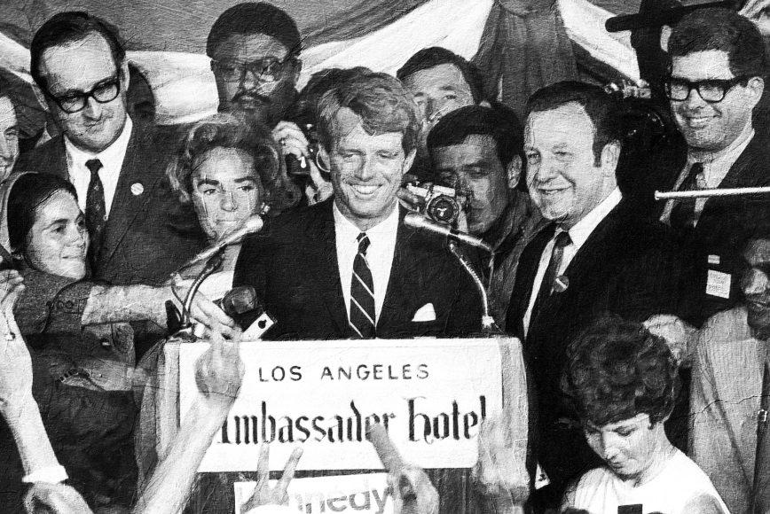 Robert F. Kennedy at Ambassador Hotel | Los Angeles 1968