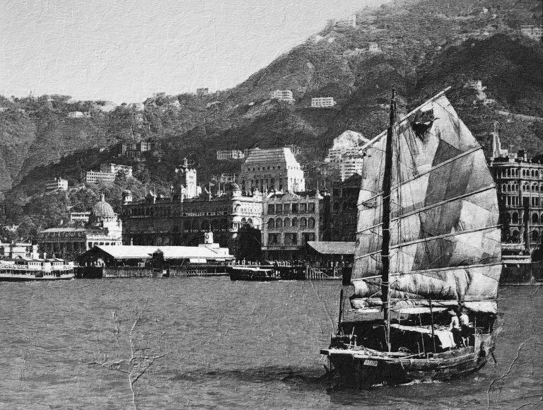 Hong Kong early 1900s