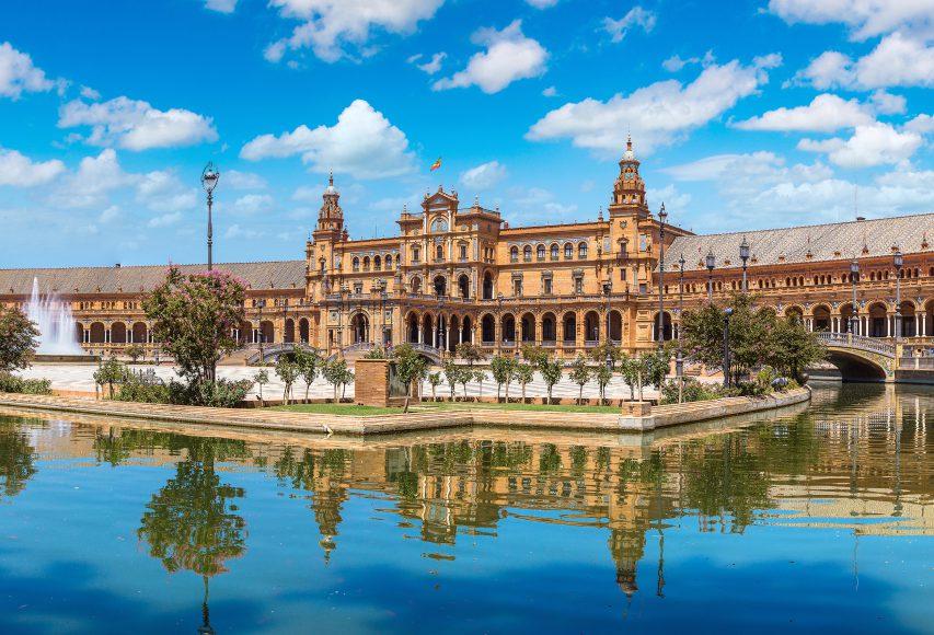 Spanish Square, Seville, Spain